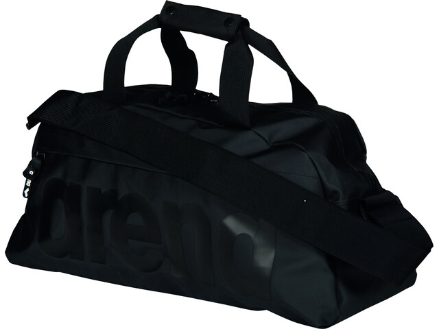 arena Team 25 All Black Duffel, black